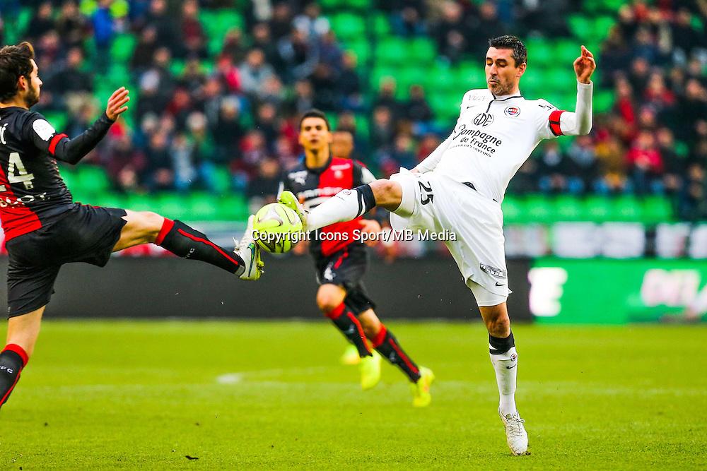Julien FERET  - 25.01.2015 - Rennes / Caen  - 22eme journee de Ligue1<br /> Photo : Vincent Michel / Icon Sport *** Local Caption ***