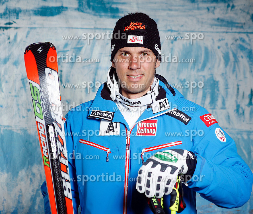 20.10.2012, Messehalle, Innsbruck, AUT, OeSV, Ski Alpin, Fototermin, im Bild Mario Matt (OeSV, Skirennlaeufer) // during the official Portrait and Teamshooting of the Austrian Ski Federation (OeSV) at the Messehalle, Innsbruck, Austria on 2012/10/20. EXPA Pictures © 2012, PhotoCredit: EXPA/ OeSV/ Erich Spiess