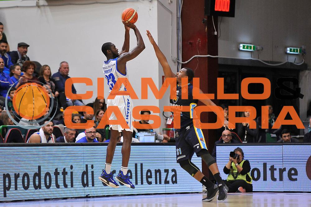 Josh Carter<br /> Banco di Sardegna Dinamo Sassari - Vanoli Cremona<br /> LegaBasket Serie A LBA Poste Mobile 2016/2017<br /> Sassari 26/11/2016<br /> Foto Ciamillo-Castoria