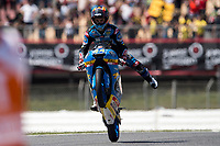 Aron Canet of spain and Estrella Galicia 00 Team during the race of  Moto3 of Catalunya at Circuit de Catalunya on June 11, 2017 in Montmelo, Spain.(ALTERPHOTOS/Rodrigo Jimenez)