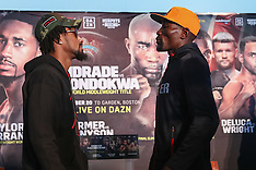 October 18, 2018: Andrade vs Kautondokwa Final Press Conference