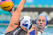 24-07-2017: Waterpolo: Nieuw Zeeland v Nederland: Boedapest<br /> <br /> (L-R) Ilse Koolhaas of team Netherlands during the waterpolomatch between women New Zealand and Netherlands at the 17th FINA World Championships 2017 in Budapest, Hungary<br /> <br /> Photo / Foto: Gertjan Kooij