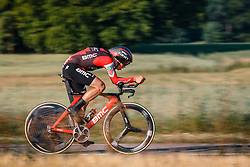 Floris Gerts of BMC Racing Team, Dutch Individual Time Trial Nationals Men Elite, Stokkum, Montferland, The Netherlands, 21 June 2017. Photo by Pim Nijland / PelotonPhotos.com | All photos usage must carry mandatory copyright credit (Peloton Photos | Pim Nijland)