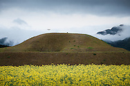 "— Saito burial mounds are similar to others found in Korea, Mongolia and Eurasia. The ""key"" shape is not a common design, but some examples exist within northern Asia."
