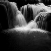 Waterfall in Lao.