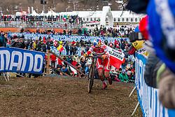 Simon Andreassen (DEN), Men Juniors, Cyclo-cross World Championship Tabor, Czech Republic, 31 January 2015, Photo by Pim Nijland / PelotonPhotos.com