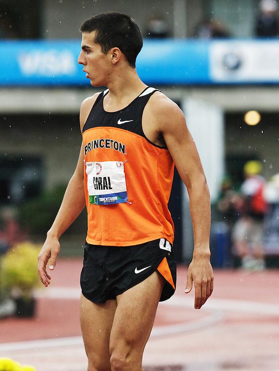 men's 3000 meter steeplechase, Donn Cabral