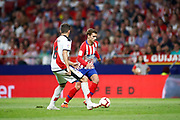 Antoine Griezmann of Atletico de Madrid during the spanish league, La Liga, football match between Atletico de Madrid and Rayo Vallecano on August 25, 2018 at Wanda Metropolitano stadium in Madrid, Spain, Photo Oscar Barroso / SpainProSportsImages / DPPI / ProSportsImages / DPPI