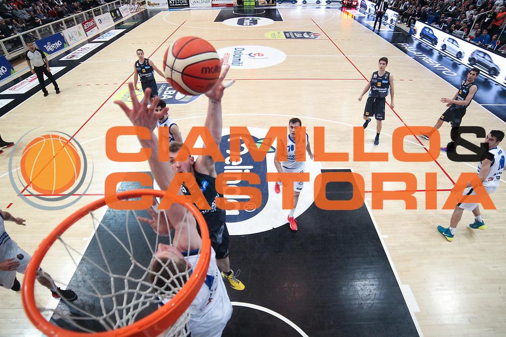 Luca Lechthaler<br /> Dolomiti Energia Aquila Basket Trento - Germani Basket Brescia Leonessa<br /> Lega Basket Serie A 2016/2017<br /> PalaTrento, 23/04/2017<br /> Foto Ciamillo-Castoria / M. Brondi
