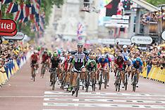 2014 Tour De France Stage 3 Cambridge to London July 7th