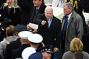 Senator John McCain arrives for the President Inaugural Ceremony on Capitol Hill January 20, 2017 in Washington, DC. Donald Trump became the 45th President of the United States in the ceremony.