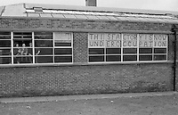 Factory occupation in Sheffield. Possibly Lodestar Engineers Ltd on Johnson Street. March 1981