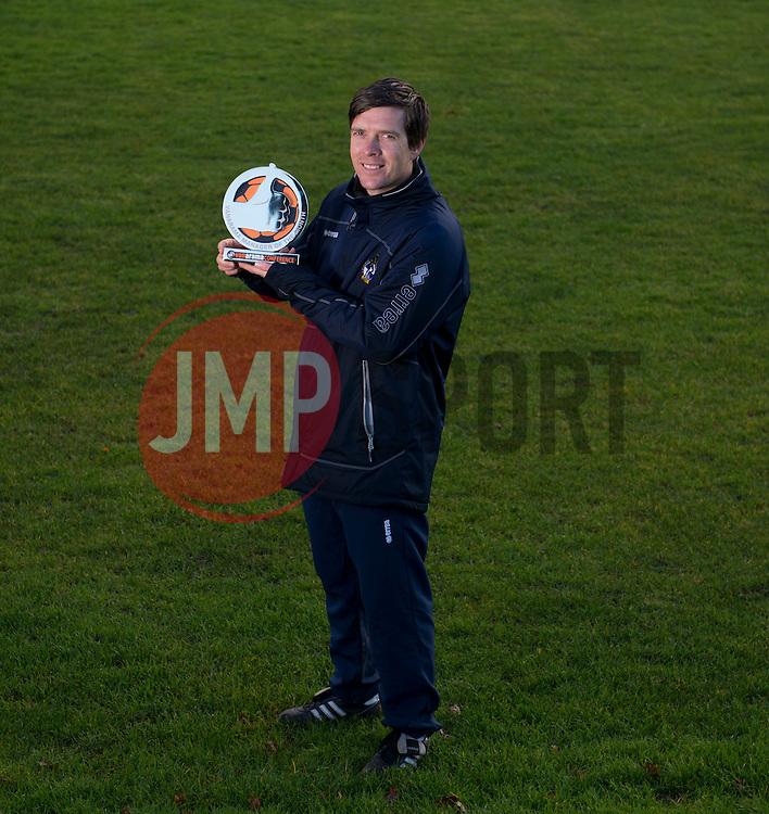 Darrell Clarke is Vanarama's manager of the month for December - Photo mandatory by-line: Joe Meredith/JMP - Mobile: 07966 386802 - 08/01/2015 - SPORT - football - Bristol - Bristol Rovers Training Ground - Bristol Rovers v Darrell Clarke - Vanarama Manager of the Month