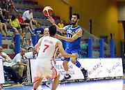 LIGNANO SABBIADORO, 07 LUGLIO 2015<br /> BASKET, EUROPEO MASCHILE UNDER 20<br /> ITALIA-CROAZIA<br /> NELLA FOTO: Luca Vencato<br /> FOTO FIBA EUROPE/CASTORIA