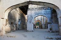 Tanzanie, archipel de Zanzibar, île de Unguja (Zanzibar), ville de Zanzibar, ruines du palais Beit el Ras // Tanzania, Zanzibar island, Unguja, ruin of the Beit el Ras palace