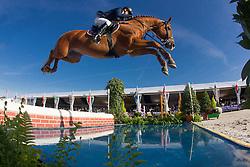 Kürten Jessica (IRL) - Arezzo VDL<br /> FEI World Breeding Jumping Championship for Young Horses - Lanaken 2012<br /> © Dirk Caremans