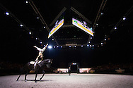 Jacques Ferrari, (FRA), Poivre Vert, Francois Athimon - Individuals Men Final Vaulting - Alltech FEI World Equestrian Games&trade; 2014 - Normandy, France.<br /> &copy; Hippo Foto Team - Jon Stroud<br /> 05/09/2014