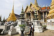 Prasat Phra Thep Bidon, The Royal Pantheon, Bangkok, Thailand