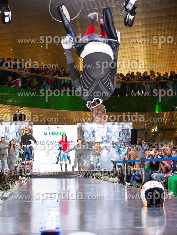 09.10.2015, Europapark, Salzburg, AUT, Praesentation der OeSV Winterkollektion,, im Bild Thomas Diethart // during Fashion Show of the Presentation of OeSV winter collection of Austrian Ski Federation OeSV at the Europapark in Salzburg, Austria on 2015/10/09. EXPA Pictures © 2015, PhotoCredit: EXPA/ Johann Groder