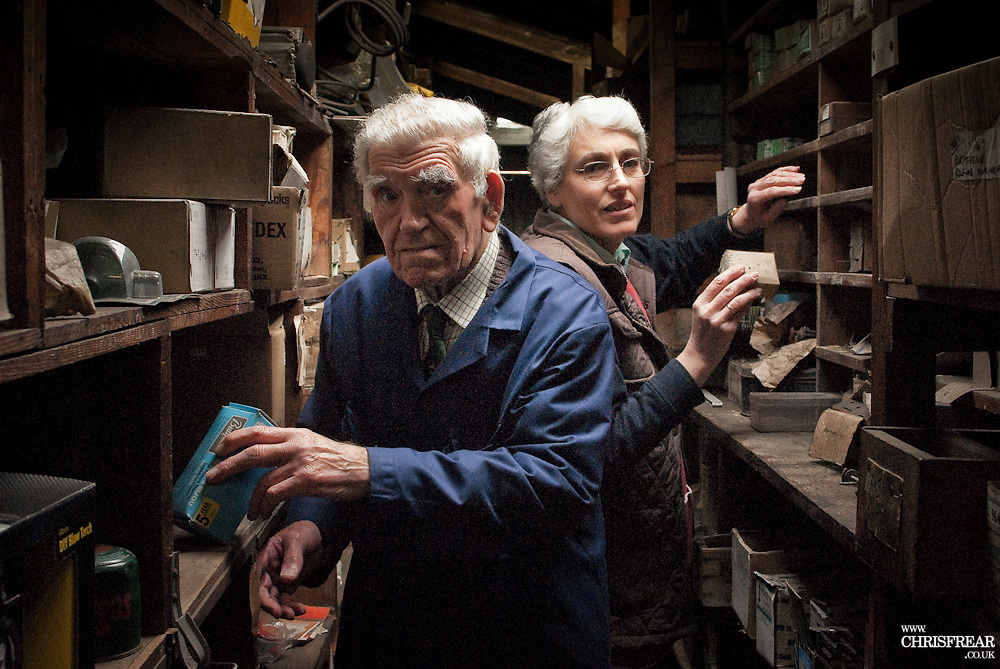 Father &amp; Daughter Shopkeepers<br />Thornhill<br />Dumfries
