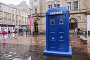 Glasgow, Scotland Blue police box