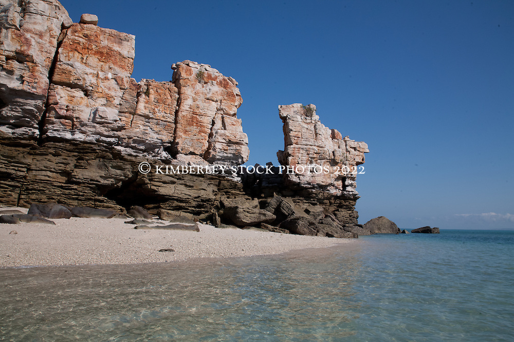Bumpus Island is a rocky outcrop in Camden Sound on the Kimberley coast, and an aggregation point for the Humpback whales which migrate to Camden Sound to calve.