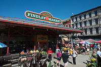 Findlay Market in Over the Rhine Cincinnati Ohio