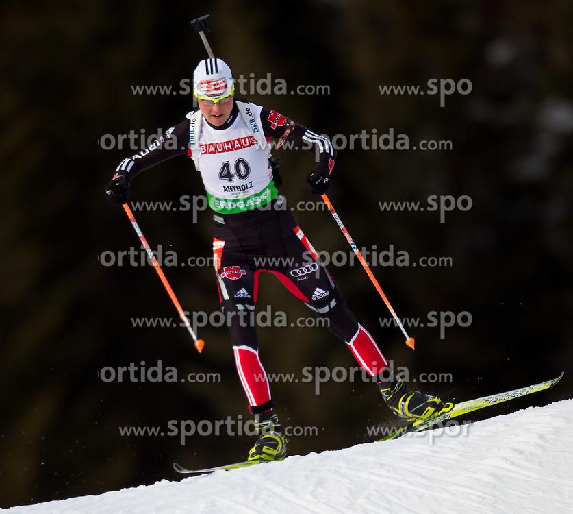 21.01.2011, Südtirol Arena, Antholz, ITA, IBU Biathlon Worldcup, Antholz, Sprint Women, im Bild Tina Bachmann (GER) // Tina Bachmann (GER) during IBU Biathlon World Cup in Antholz, Italy, EXPA Pictures © 2011, PhotoCredit: EXPA/ J. Feichter