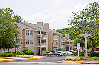 Architectural photography of Springwoods at Lake Ridge Apartments in Woodbridge VA by Jeffrey Sauers of Commercial Photographics.