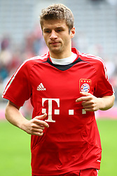 18.09.2010, Allianz Arena, Muenchen, GER, 1.FBL, FC Bayern Muenchen vs 1.FC Koeln, im Bild Thomas Mueller (Bayern #25)  , EXPA Pictures © 2010, PhotoCredit: EXPA/ nph/  Straubmeier+++++ ATTENTION - OUT OF GER +++++ / SPORTIDA PHOTO AGENCY