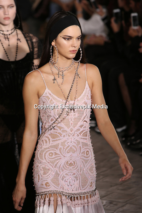KENDALL JENNER- GIVENCHY MEN FASHION SHOW , SPRING - SUMMER 2016 .<br /> &copy;Exclusivepix Media