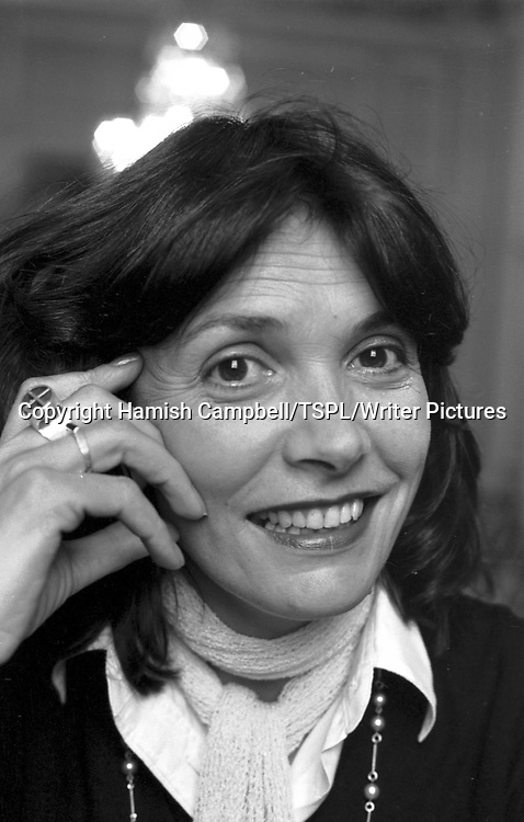 TV presenter and journalist Joan Bakewell at an Edinburgh Festival press conference in September 1979.<br /> <br /> copyright Hamish Campbell/TSPL/Writer Pictures<br /> contact +44 (0)20 822 41564<br /> info@writerpictures.com<br /> www.writerpictures.com