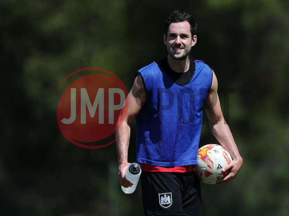 Greg Cunningham of Bristol City  - Photo mandatory by-line: Joe Meredith/JMP - Mobile: 07966 386802 - 17/07/2015 - SPORT - Football - Albufeira -  - Pre-Season Training