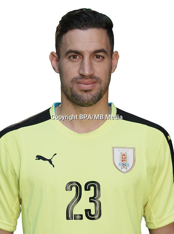 Football Conmebol_Concacaf - <br />Copa America Centenario Usa 2016 - <br />Uruguay National Team - Group C - <br />Martin Andres Silva