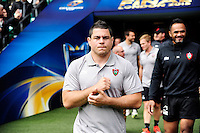 Guilhem GUIRADO - 01.05.2015 - Captains' Run de Toulon avant la finale - European Rugby Champions Cup -Twickenham -Londres<br /> Photo : David Winter / Icon Sport