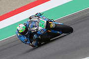 #21 Franco Marbidelli, Italian: EG O,O Marc VDS Honda during Friday Practice at the MotoGP Gran Premio d'Italia Oakley at Autodromo del Mugello Circuit, Senni-San Carlo, Italy on 1 June 2018. Picture by Graham Holt.
