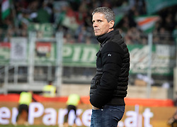 03.04.2019, TGW Arena, Pasching, AUT, OeFB Uniqa Cup, LASK vs SK Rapid Wien, Halbfinale, im Bild Trainer Dietmar Kühbauer (SK Rapid Wien) // during the halffinal match of the ÖFB Uniqa Cup between LASK and SK Rapid Wien at the TGW Arena in Pasching, Austria on 2019/04/03. EXPA Pictures © 2019, PhotoCredit: EXPA/ Reinhard Eisenbauer