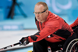 Dennis Thiessen, Wheelchair Curling Semi Finals at the 2014 Sochi Winter Paralympic Games, Russia