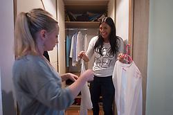 Feng Shui, Using Feng Shui to Organize Your Closet, Feng Shui, ureditev garderobne omare, garderobna omara, obleke, omara, on April 13, 2017, Ljubljana, Slovenia, foto: Photo by Anze Petkovsek / Sportida