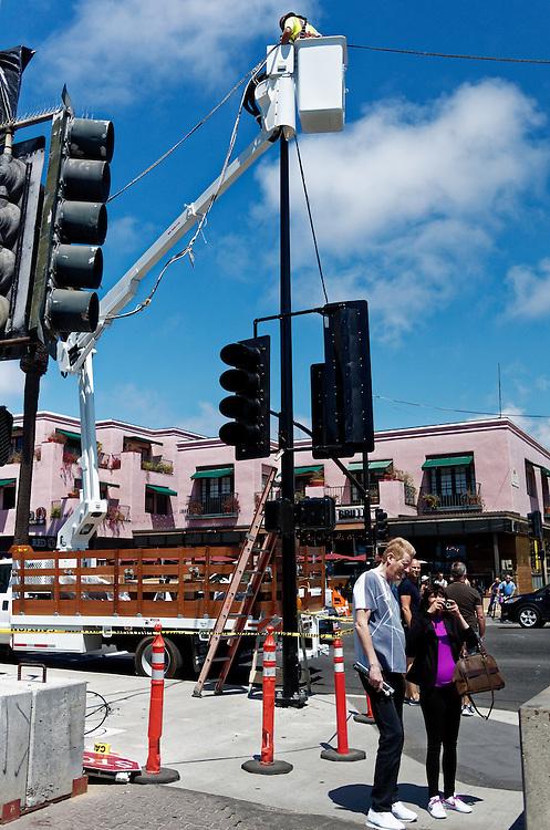 Photographs taken on the streets of Santa Monica, California