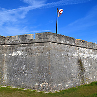 Castillo de San Marcos in St. Augustine, Florida<br />