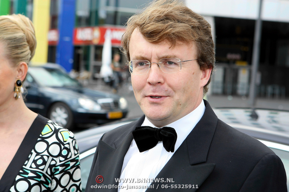 NLD/Amsterdam/20070623 - Inloop Amsterdamdiner 2007, Prins Johan Friso