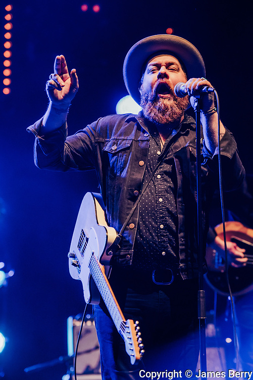 Nathaniel Rateliff & The Night Sweats perform live at Brixton Academy on Tuesday 15 November 2016.
