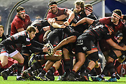 Nathan Fowles takes the ball from the pack during the Guinness Pro 14 2017_18 match between Edinburgh Rugby and Munster Rugby at Myreside Stadium, Edinburgh, Scotland on 16 March 2018. Picture by Kevin Murray.