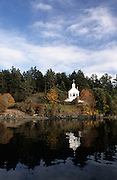 Church, Marina, Roche Harbor, San Juan Islands, Washington