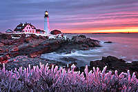 A stunning sunrise at one of Maine's most iconic landmarks.