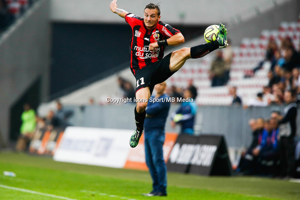 Eric Bautheac - 02.05.2015 - Nice / Caen - 35eme journee de Ligue 1<br />