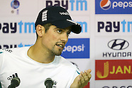 Cricket - India and England Nets in Chennai 15 Dec 2016