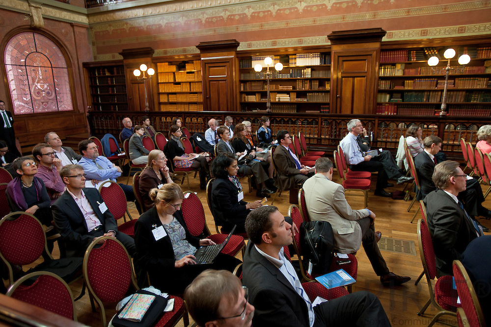 ÆRTOs Final Conference on Building Critical Mass for Innovation at Solvay Library Wednesday 28 March 2012.  Photo: ©Erik Luntang / INSPIRIT PHOTO