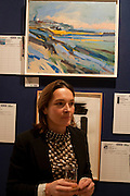 PHILIPPA RICHARDSON, Macmillan De'Longhi Art Auction 2011, Bonhams, 101 New Bond Street, London, 27 September 2011. Annual art sale supported by appliances manufacturer De'Longhi to raise funds for cancer care charity Macmillan. <br /> <br />  , -DO NOT ARCHIVE-© Copyright Photograph by Dafydd Jones. 248 Clapham Rd. London SW9 0PZ. Tel 0207 820 0771. www.dafjones.com.